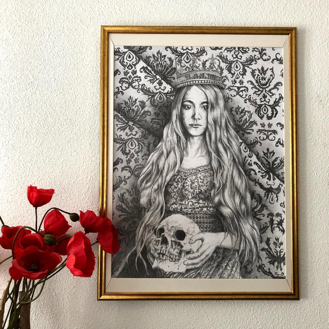 Memento mori : Queen Elise